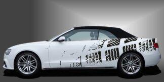 Auto Folie Streifen Cabrio Set 709