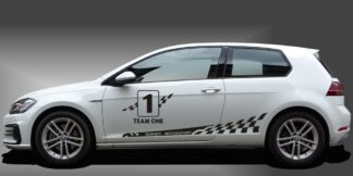 Zierstreifen Auto Kompaktklasse Set 305