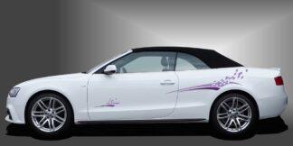 Autodekore Streifen Cabrio Set 501