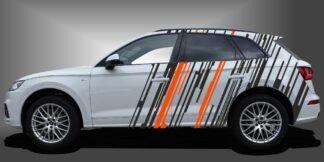 Autoaufkleber Tuning Streifen SUV Set 701