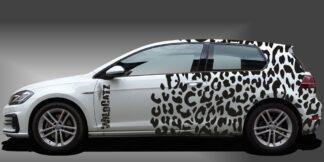 Camouflage Auto Kompaktklasse Set 713