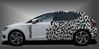 Camouflage Folie Limousine Set 713