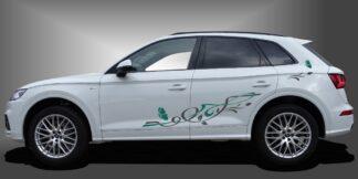 Blumen Sticker SUV Set 903