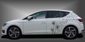 Auto Aufkleber Pusteblume Limousine Set 905