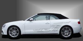 coole Autoaufkleber Cabrio Set 507