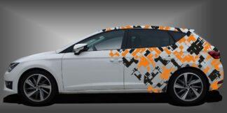 Camouflage Auto Dekor Limousine Set 719
