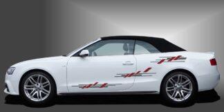 Seitendekor Aufkleber Cabrio Set 503