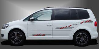 Seitendekor Aufkleber Auto Van Set 503