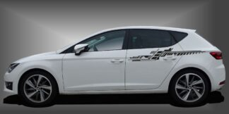Foliendesign PKW Limousine Set 509