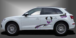 Hund Autoaufkleber SUV Set 907