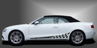 Seitenstreifen Aufkleber Auto Cabrio Set 321