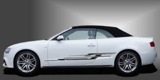 Rallystreifen Auto Cabrio Set 325