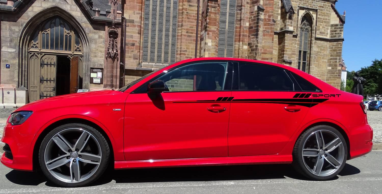 Audi A4 Set 329 schwarz