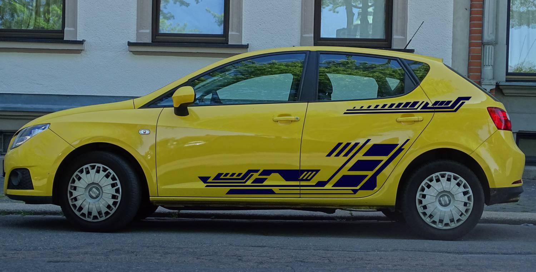 Seat Ibiza Set 507 dunkelblau