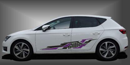 Stickers Racing Limousine Set 535
