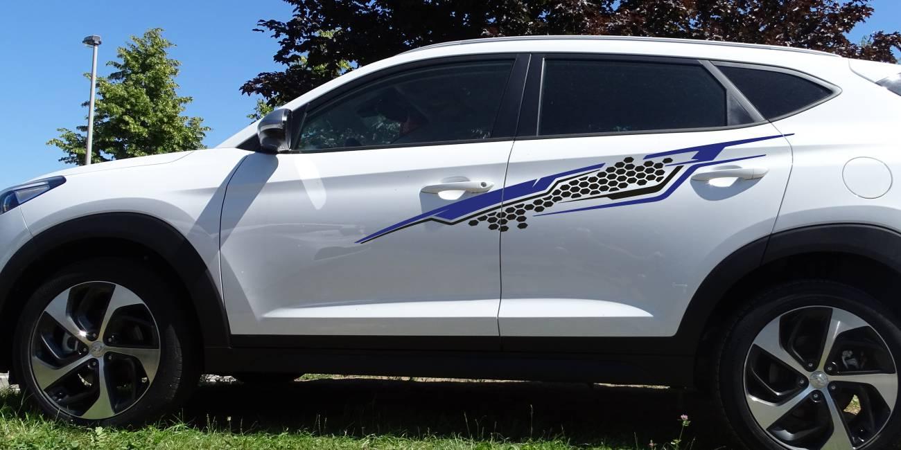 Hyundai Tucson Set 533 blau/schwarz