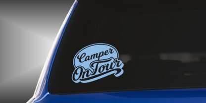 Heckaufkleber Camper on Tour No. 415
