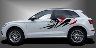Rennstreifen Car Sticker